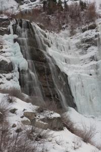 Ice on Bridal Veil