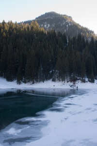 Open water at Tibble Fork Reservoir