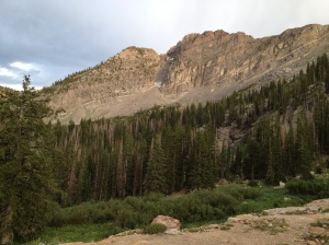 Devil's Castle near Secret Lake, Little Cottonwood Canyon, Utah